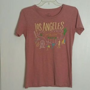 J. Crew Tops - J. Crew Collector T Los Angeles XXS